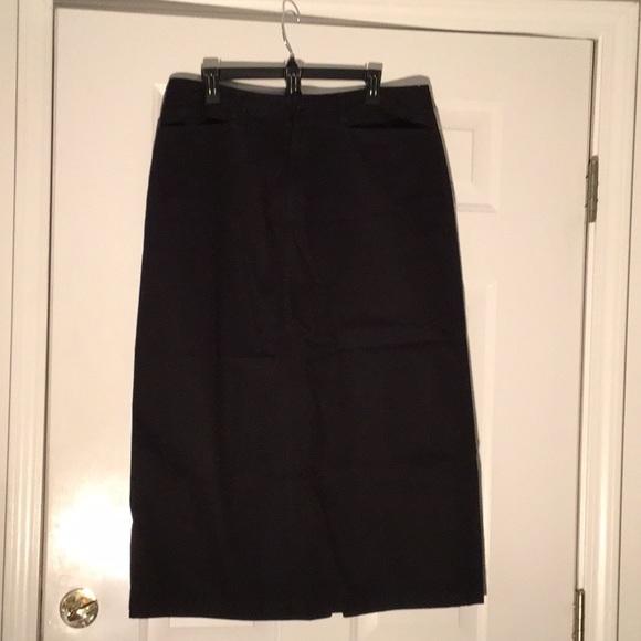 Rafaella Dresses & Skirts - Black Rafaella Skirt size 16 SFH